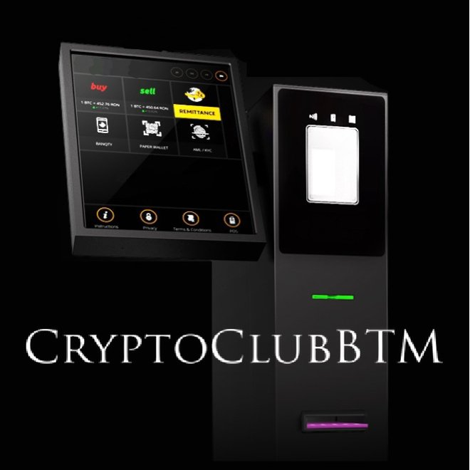 Crypto Club Inc. Bitcoin ATM